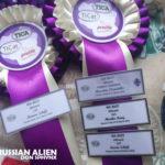 Russian Alien TICA awards